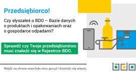 Rejestr BDO - informacja Kliknięcie w obrazek spowoduje wyświetlenie jego powiększenia