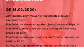 Informacja Poczty Polskiej Kliknięcie w obrazek spowoduje wyświetlenie jego powiększenia