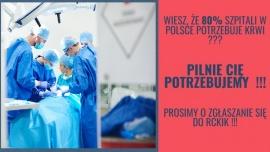 Apel Centrum Krwiodawstwa Wrocław Kliknięcie w obrazek spowoduje wyświetlenie jego powiększenia