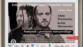 XVII edycja Krakowskiego Salonu Poezji w Polanicy-Zdroju Kliknięcie w obrazek spowoduje wyświetlenie jego powiększenia
